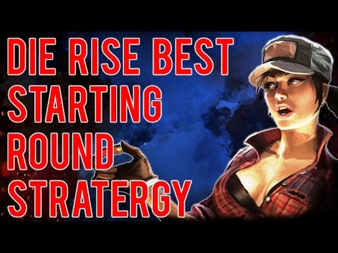 ZOMBIE TIPS : Die Rise - Best Starting Rounds Strategy (Great Leap Forward) Black Ops 2 Zombies