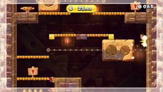 Stoneslide Tower Climb Gold Medal - New Super Mario Bros. U (59.54 Seconds)