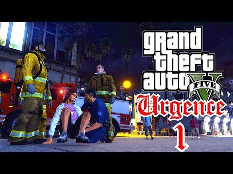 Mon premier jour d'ambulancier - URGENCE 1 - RESCUE MODS GTA 5