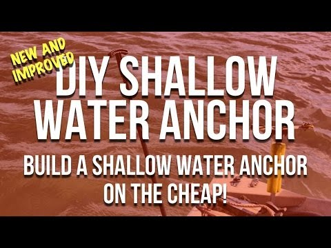 DIY Shallow Water Anchors - Make Your Own Shallow Water Anchor
