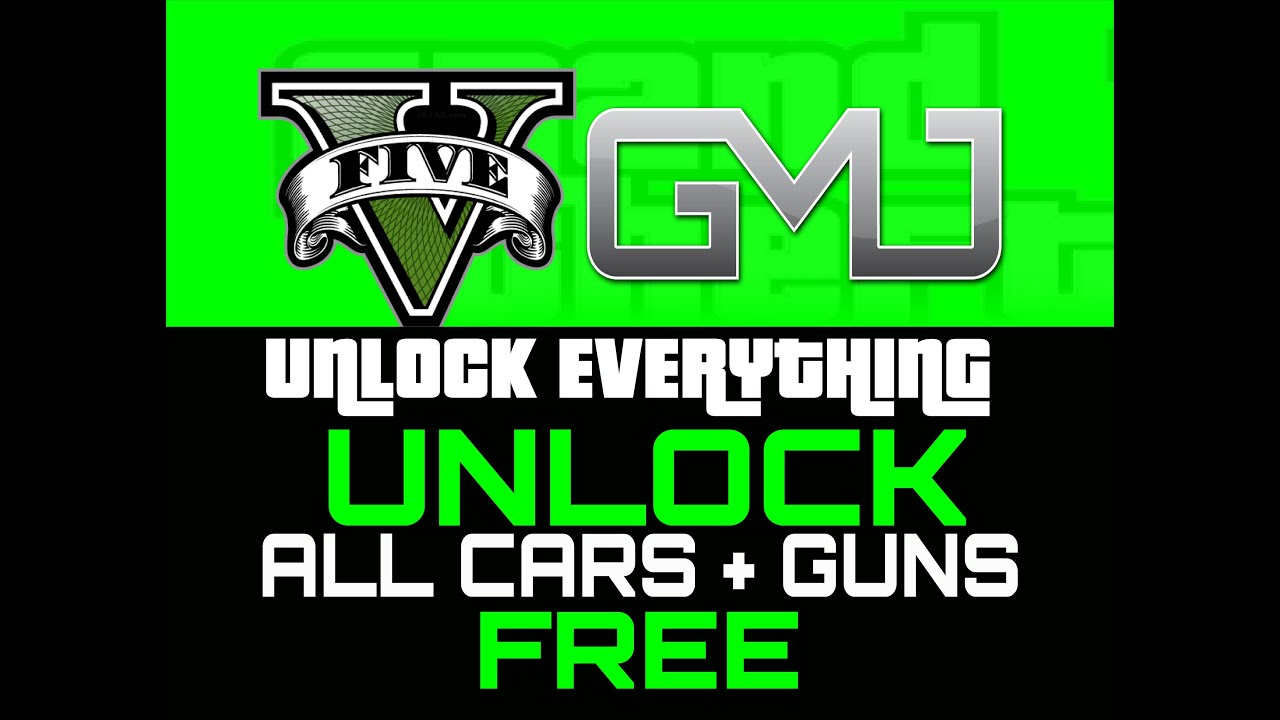 gta 5 unlock everything free car and upgrades edition easy glitch youtube. Black Bedroom Furniture Sets. Home Design Ideas