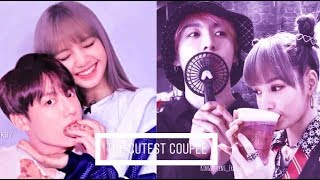 🐰Lizkook🐱 Lisa (blackpink) & Jungkook (bts) • the cutest couple • [fmv]