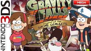Descargar Gravity Falls Legend of the Gnome Gemulets en Español | 3DS ROM