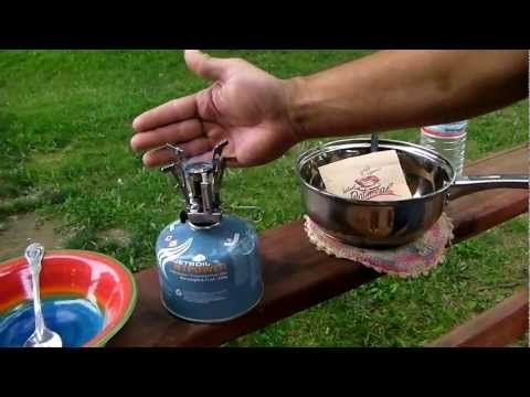 Review:  Ultralight Camp Stove with Piezo Ignition 11 dollar wonder.