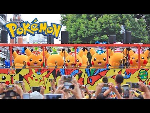 Pikachu Outbreak! - Parade , Show and Pokémon GO Park Event in Yokohama Japan
