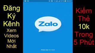 Kiếm Thẻ Cáo 10k Trong 5 phút  app ZaLo với Budweiser