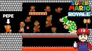 Mario se transforma en un Battle Royale?!? - Jugando Mario Royale con Pepe el Mago