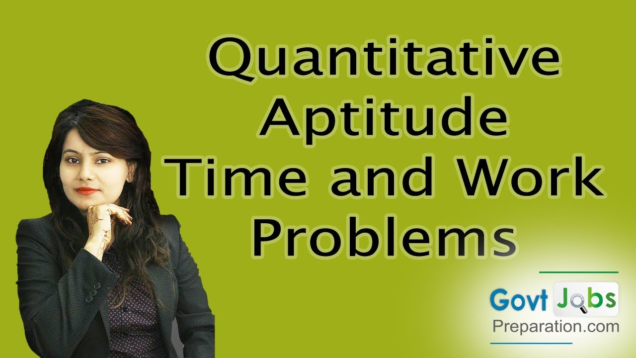 aptitude on time and work Time and work questions for ibps/sbi po, niacl, nicl, lic, boi, bank of baroda and other competitive exams a can do a work in 25 days which b alone can do in 20 days.