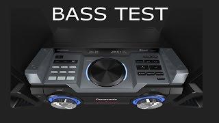 Panasonic SC-MAX4000 EK // SHORT BASS TEST