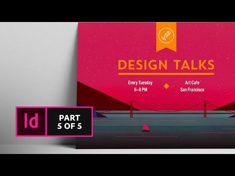 How to Create a Postcard in InDesign CC (5/5) | Adobe Creative Cloud
