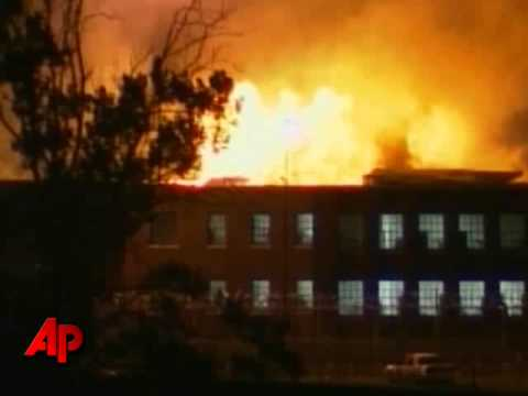 Raw Video: Inmates Set Fire to Kentucky Prison