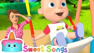 Yes Yes Playground Song | Nursery Rhymes & Kids Songs by Sweet Songs