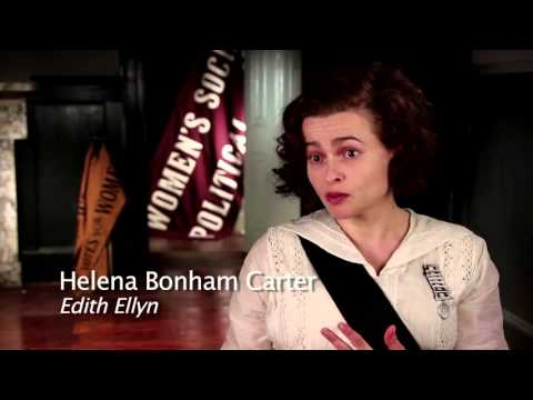 SUFFRAGETTE - Behind the Scenes Featurette Part 2: Carey Mulligan Helena Bonham Carter Meryl Streep