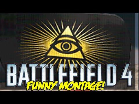 Battlefield 4 Funny Montage! MLG illuminati , Jumping Trains , Teammate Trolling (BF4 Funny Moments)