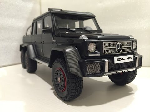 1/18 Autoart Mercedes-Benz G63 AMG 6X6 (Suspension test 5:05)