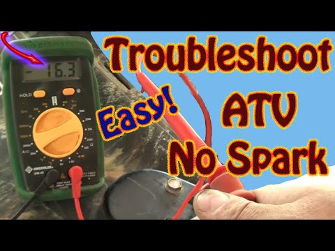 DIY How to Troubleshoot & Repair a No Spark Condition on a Polaris Sportsman ATV  Repair Manual