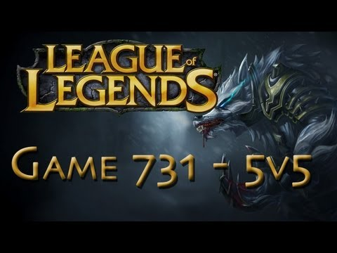 LoL Game 731 - 5v5 - Warwick Jungle