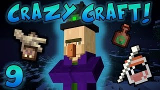 Minecraft: Crazy Craft Ep. 9 - WITCHERY MOD!