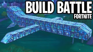 BUILD BATTLE MINI-GAME // VLIEGTUIG - Fortnite: Battle Royale PLAYGROUND (Nederlands)