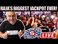 UNBELIEVABLE...RAJA SHATTERS HIS RECORD! 💥$100,000 💥BIGGEST JACKPOT ON YOUTUBE! 💥The Big Jackpot