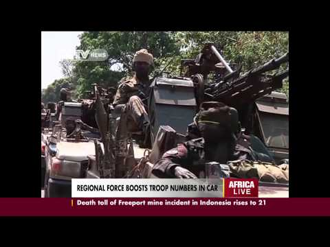 Armed med invade a remote village in Bouca, Central African Republic