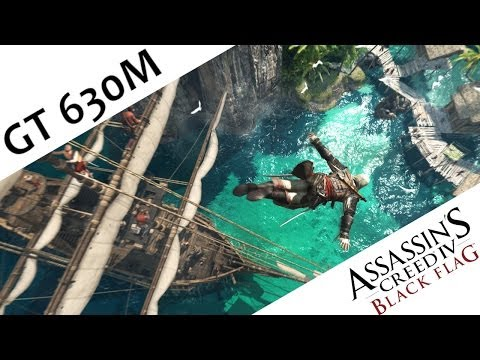 Assassin's Creed 4 Black Flag Nvidia Geforce GT 630M