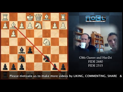 The Most Insane Chess Sacrifices You've Ever Seen!!! - GMs Timur Gareev and Har-Zvi (EMPIRE CHESS)
