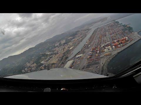 PilotcCAM 717 into Genoa