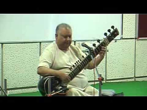Ustaad Shujaat Khan - Lec dem at BKMIBA - Ahmedabad University