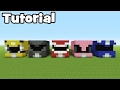 Minecraft Tutorial: How To Make A Power Rangers House
