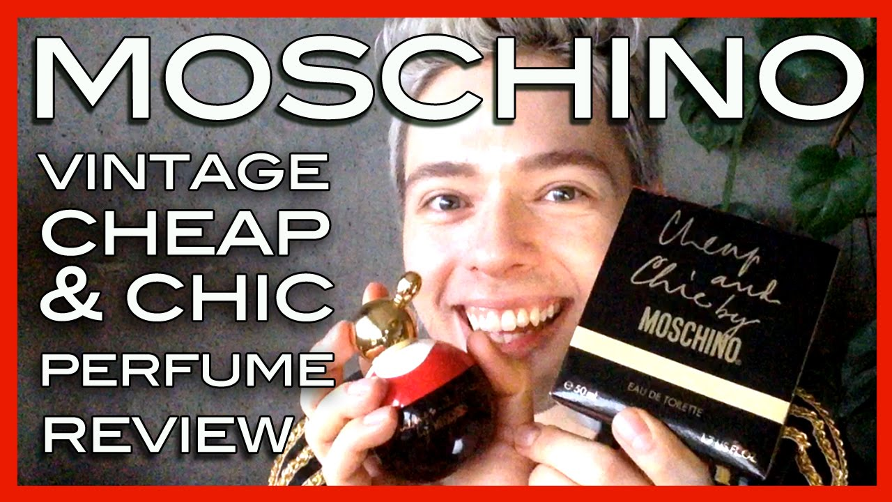 Review Vintage Moschino Cheap