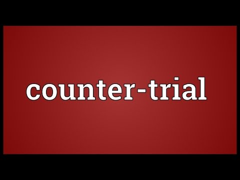 Header of Counter-Trial