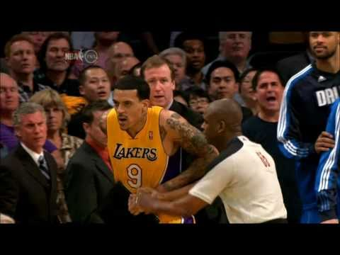 The Battle of Staples Center - Dallas Mavericks vs. Los Angeles Lakers 31.03.2011 (HD)