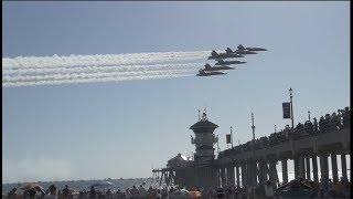 Huntington Beach Air Show   Raw Footage 2017  