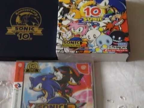 Sonic the Hedgehog 10th Anniversary Sonic Adventure 2 Birthday Pack Review