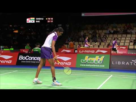 Day 4 - 2014 BWF World Championships - P.V Sindhu vs Bae Yeon Ju