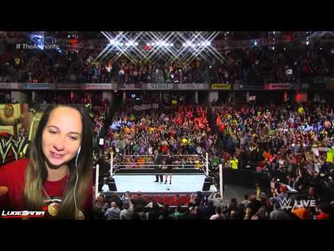 WWE Raw 11/24/14 BYE Authority HELLO Daniel Bryan Live Commentary