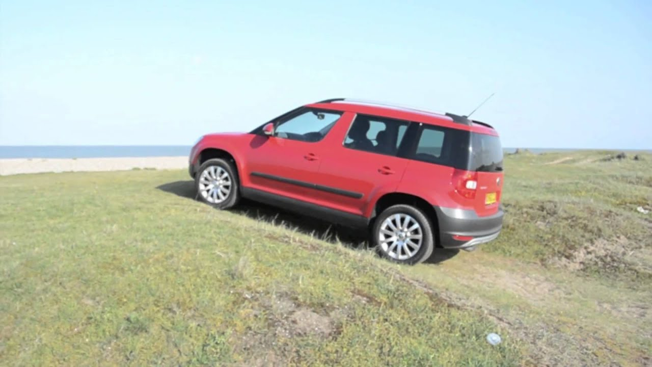 skoda yeti 4x4 2 0 tdi dsg youtube. Black Bedroom Furniture Sets. Home Design Ideas