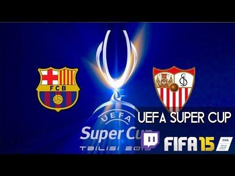 FC BARCELONA 5 : 4 FC SEVILLA - UEFA SUPER CUP 2015 11. August [FIFA15]