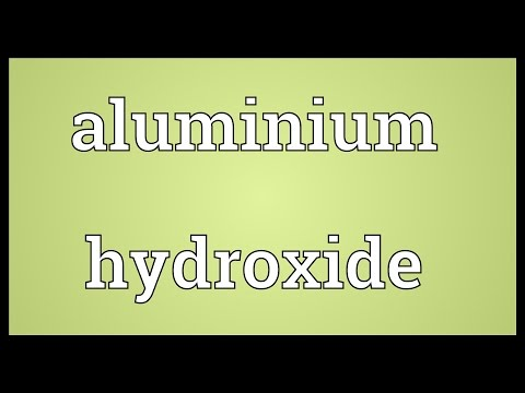 Header of Aluminium hydroxide