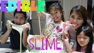 SLIME YOU CAN EAT* EDIBLE SLIME RECIPES! PART 1