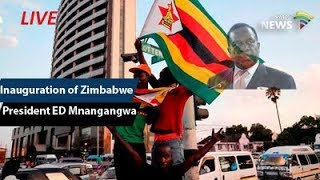 THE INAUGURATION OF THE PRESIDENT OF ZIMBABWE CDE EMMERSON D. MNANGAGWA