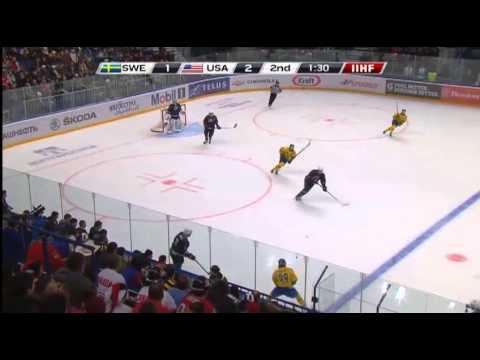 USA-SWEDEN 3-1/США-ШВЕЦИЯ 2013 IIHF Ice Hockey U20 World Championship FINAL 05.01.13