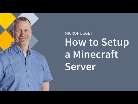 MicroNugget: How to Set Up a Minecraft Server