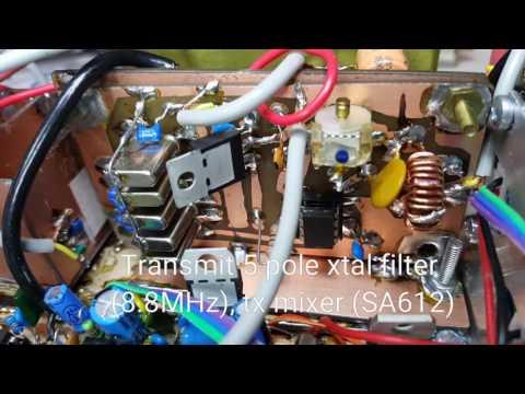 VK3HN: Tour of a 7MHz homebrew QRP SSB transceiver