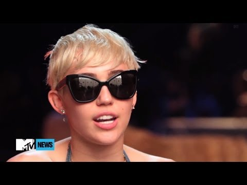 Miley Cyrus Explains Sexy Madonna Performance On Mtv Unplugged video