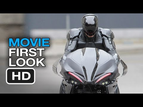 RoboCop - RoboCycle First Look (2013) Robo Cycle - Samuel Jackson Movie HD