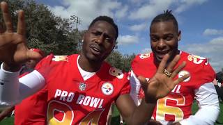 Le'Veon Bell and Antonio Brown Pro Bowl Behind the Scenes!