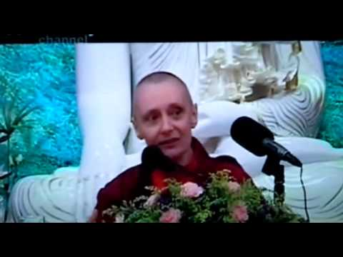 Another Dharma Talk by Tenzin Palmo