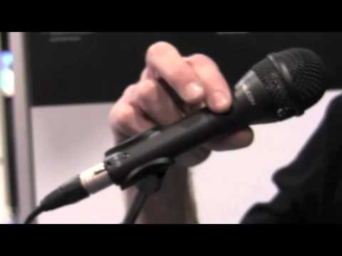 TC-Helicon MP Series Microphones Overview - Sweetwater NAMM 2011